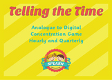 Telling the Time Games - Analogue and Digitial - Hourly, Quarter to/from