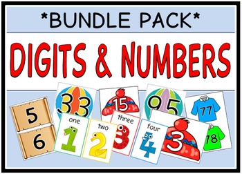 Digits & Numbers (BUNDLE PACK)