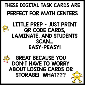 Digits Tens and Ones | DIGITAL TASK CARDS | PRINTABLE TASK CARDS