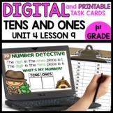 Digits Tens and Ones | DIGITAL TASK CARDS | PRINTABLE TASK CARDS