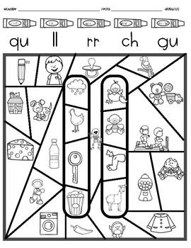 Dígrafos en Español