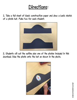 Digraph AR Pirate Hat { Freebie } for Kindergarten and First Grade Phonics