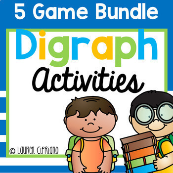 Digraph Activity Bundle (Ch, Sh, Th, Wh)