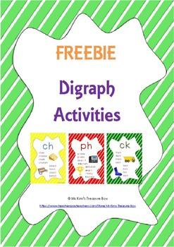 Digraph Activities FREEBIE