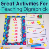 Digraph ck Worksheets and Activities