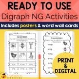 Digraph Activities, Games & Worksheets {ng}