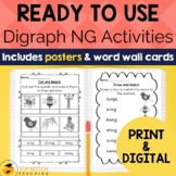 Digraph ng Worksheets and Activities