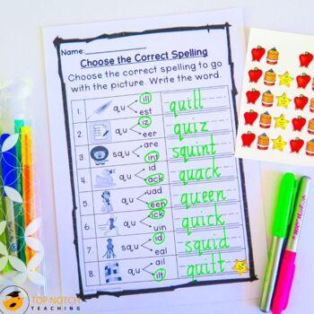 Fun Fonix Book 2: consonant digraph worksheets