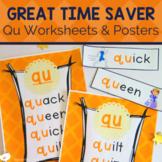 QU Digraph   QU Activities and Worksheets