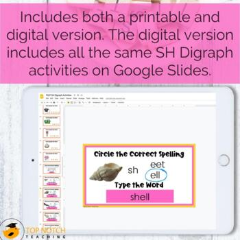 digraph activities games worksheets sh by top notch teaching. Black Bedroom Furniture Sets. Home Design Ideas
