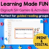 sh Digraph Worksheets and Activities