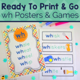 Digraph wh Worksheets and Games