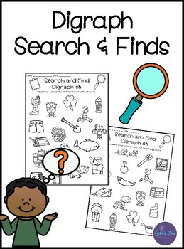 Digraph Activities - Search and Finds
