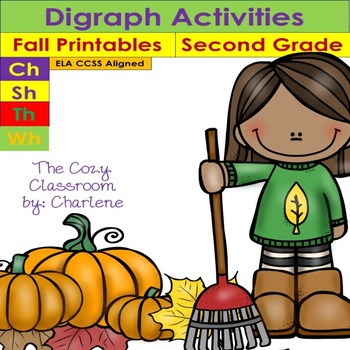 Digraph Activities - Second Grade ELA CCSS RF.2.3