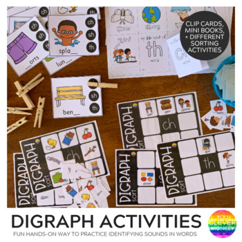 Digraph Activities - ch/sh/th
