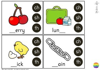 Digraph Activities - CH SH TH