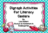 Digraph Activities for Literacy Centers