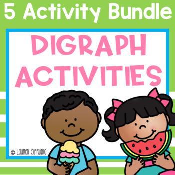 Digraph Activity Bundle Ch Sh Th Wh