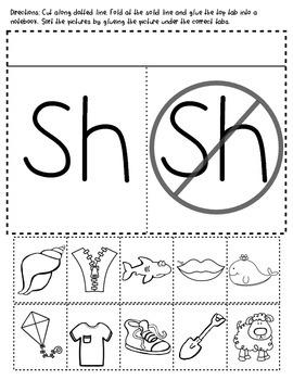 Digraph Activity Bundle: sh, ph, th, ch. kn, wh, wr