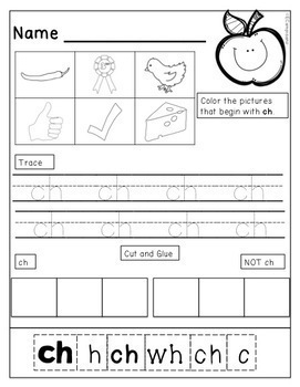 digraph sorts no prep worksheets booklets and centers by emily campisano. Black Bedroom Furniture Sets. Home Design Ideas
