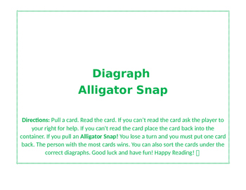 Digraph Alligator Snap