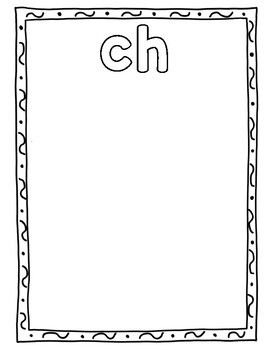 Digraph Anchor Chart FREEBIE