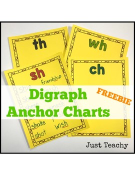 Digraph Anchor Chart FREE