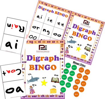 Digraph BINGO | Fun Bingo Game