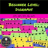 Digraph Beginner Level Isolated Sounds/ Word Work