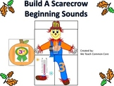 Digraph Beginning Sounds Build a Scarecrow Word Work Daily 5 Center Activity