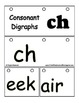 Digraph Beginning blend CH - Reading Literacy Center Flip Book