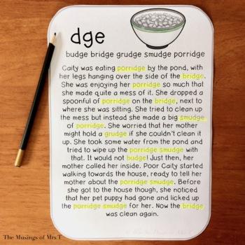 Digraph & Blend Reading Passages - Part 4