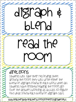 Digraph Blend read the room