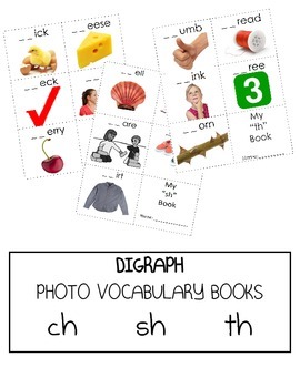 Digraph Books - /ch/ /sh/ /th/