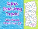 Digraph Brainstorming Templates - Wh, Th, Sh, Ch