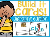 Digraph Build It Cards