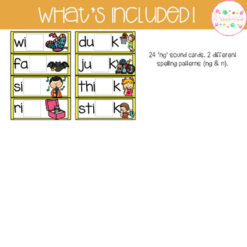 Digraph Build a Word - Phonics Alternative Spelling