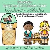 Digraph Build an Ice Cream Cone Literacy Center