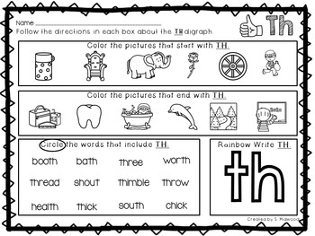 Digraph Bundle: CH, PH, SH, TH and WH