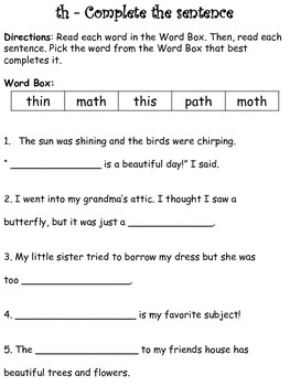 Digraph Bundle (Sh, Th, Ch, Ck, Wh)