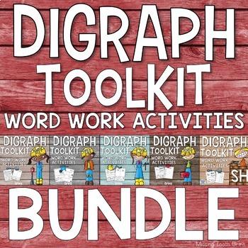 Digraph Bundle {Word Work & Activities}