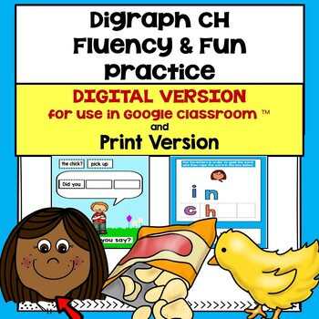 Digraph CH Fluency & Fun Practice