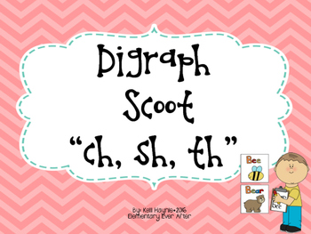 Digraph (CH, SH and TH) Write the Room