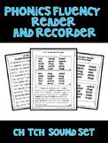 Digraph CH TCH - Phonics Fluency Assessment