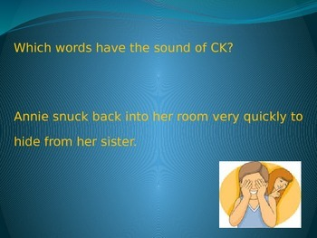 Digraph: CK PowerPoint Lesson