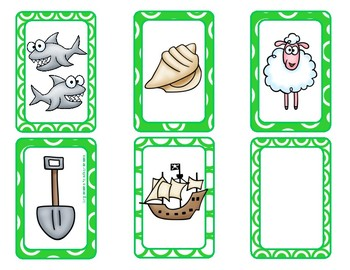 Digraph Card Game (sh, ch, th, wh)
