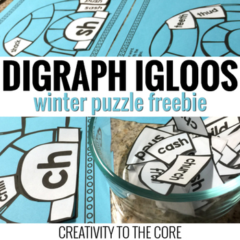 Digraph Center - Igloo Puzzle