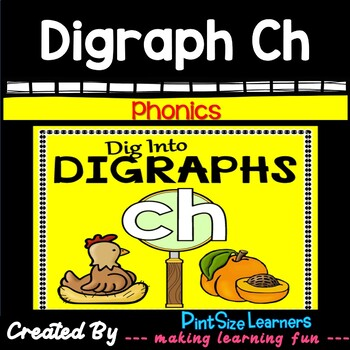 Digraph Ch No Prep Worksheets
