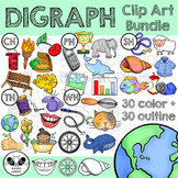 Digraph Clip Art Bundle