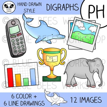 Digraph Clip Art - PH